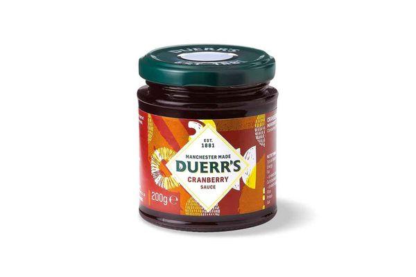 Salsa de Cranberry DUERR'S 200 gr en Tienda Inglesa
