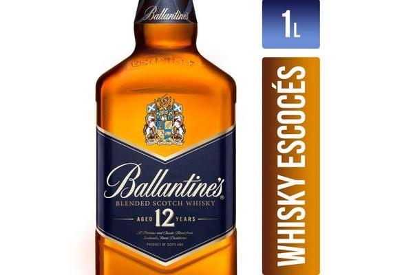 Whisky BALLANTINES 12 Años 1 L en Tienda Inglesa