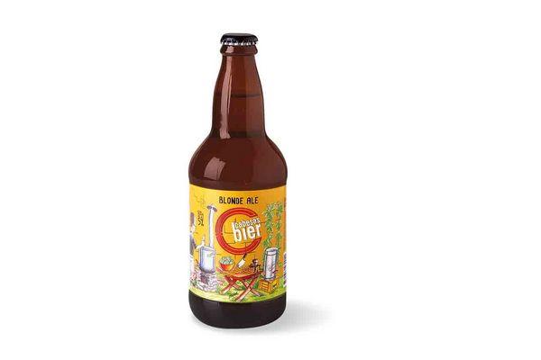 Cerveza CABESAS Blonde Ale 500ml en Tienda Inglesa