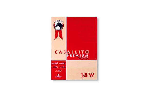 Block 1/8w CABALLITO premium 20 hojas 180gr en Tienda Inglesa