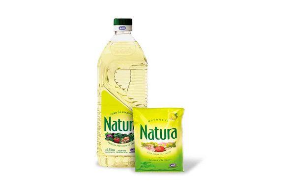 Pack de Aceite NATURA 1500cc + Mayonesa  NATURA 125cc ¡De Regalo! en Tienda Inglesa
