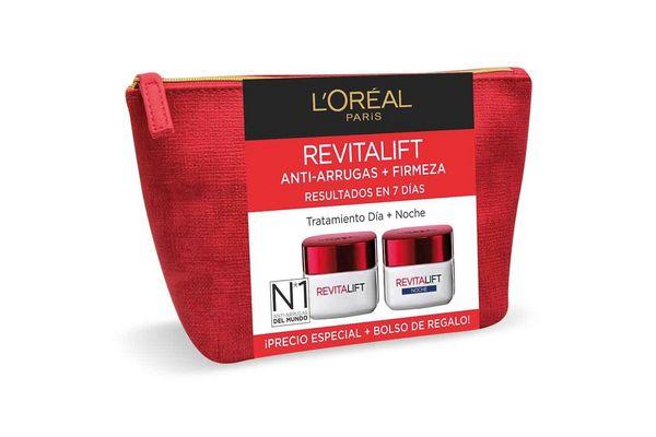 Set L'ORÉAL Revitalift Anti Arrugas + Firmeza Tratamiento Día + Noche en Tienda Inglesa