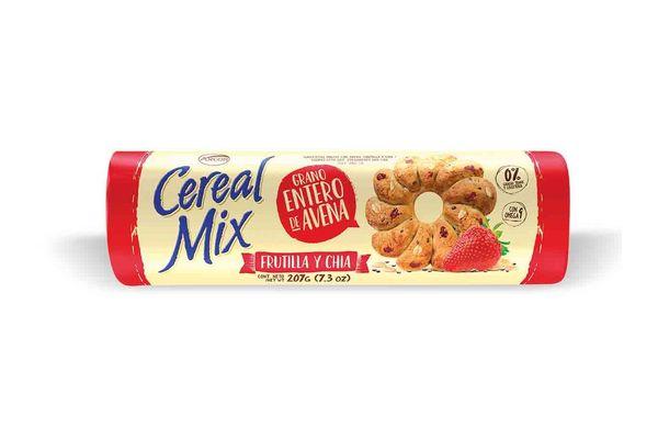 Galletas Cereal Mix de Frutilla y Chia ARCOR 230 gr en Tienda Inglesa