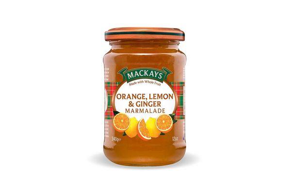 Mermelada Orange, Lemon & Ginger MACKAYS 340g en Tienda Inglesa