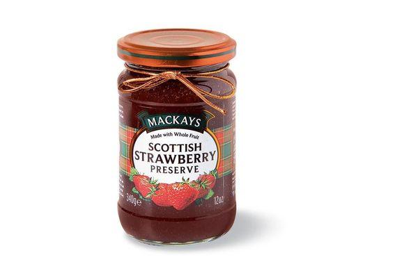 Mermelada Scottish Strawberry Preserve MACKAYS 340 gr en Tienda Inglesa