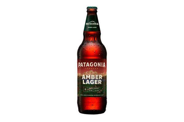 Cerveza PATAGONIA Amber Lager 730 ml en Tienda Inglesa