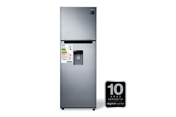 Refrigerador SAMSUNG Inox 318 L ¡Envío Gratis! en Tienda Inglesa