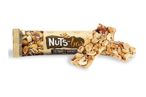 Barra de Cereal Castañas y Frutas sin Gluten NUTS -  BAR 25g en Tienda Inglesa