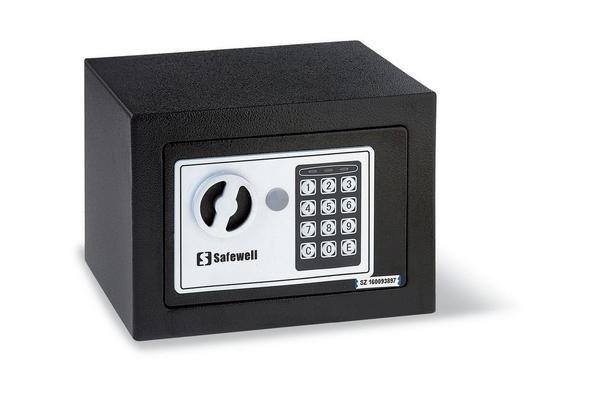 Caja Fuerte Digital SAFEWELL con Llave en Tienda Inglesa