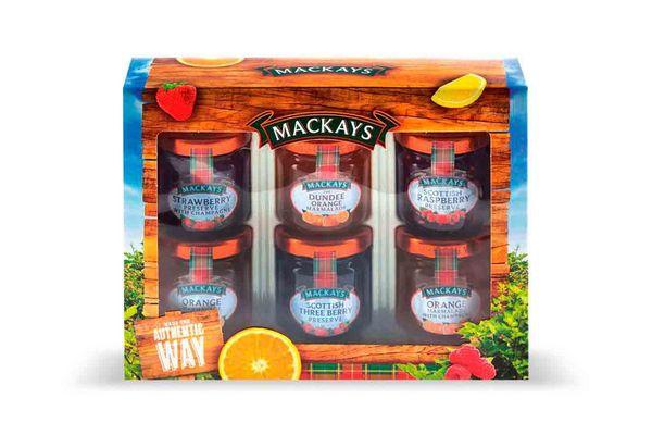 Mermelada Mini Pack 6 Gustos MACKAYS en Tienda Inglesa