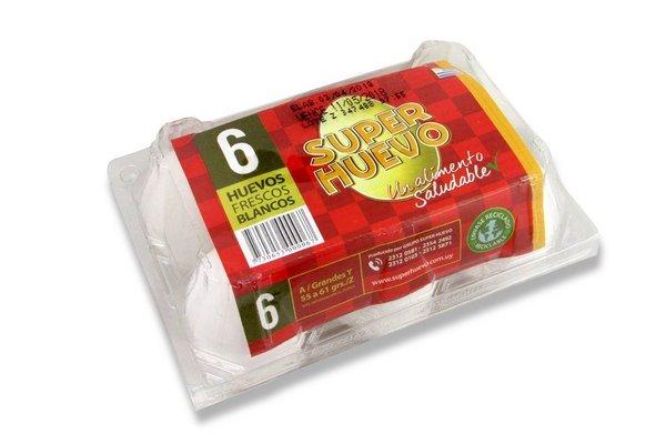 Huevo Blanco SUPERHUEVO x 6 Unidades en Tienda Inglesa