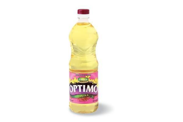 Aceite Refinado de Canola OPTIMO 900 ml en Tienda Inglesa