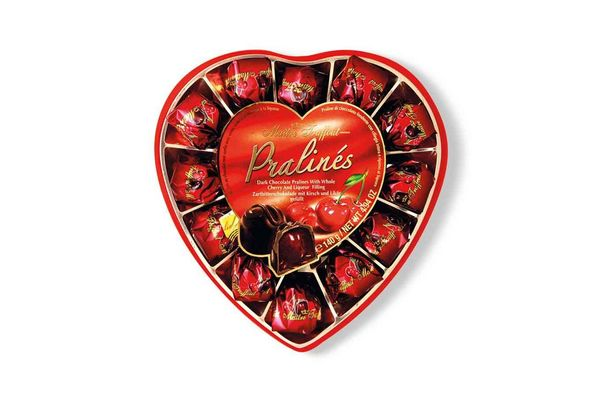 Bombonera Corazón MAITRE TRUFFOUT Cherry 140 gr en Tienda Inglesa