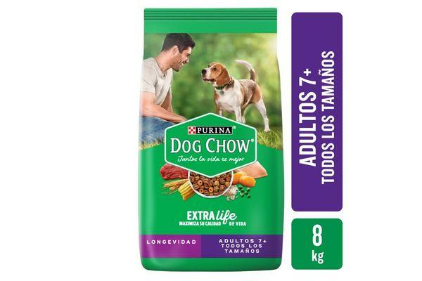 DOG CHOW  Edad Madura + 7 años 8Kg en Tienda Inglesa