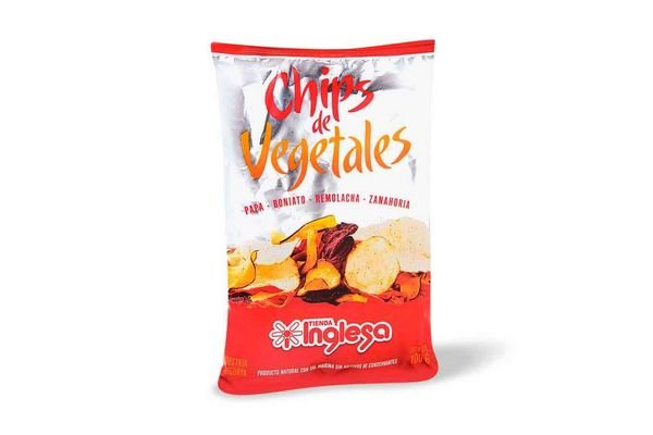 Chips de Vegetales TIENDA INGLESA 100g en Tienda Inglesa