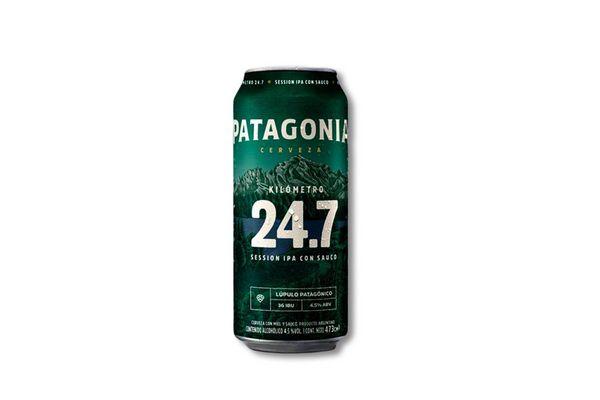 Cerveza PATAGONIA IPA 24.7 Lata 473ml en Tienda Inglesa