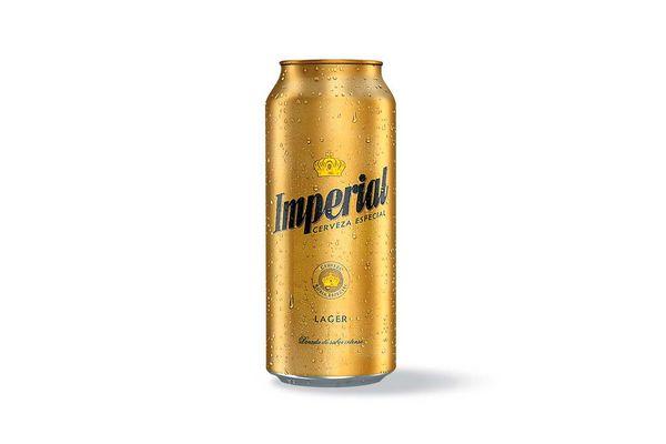 Cerveza IMPERIAL Lata 473ml en Tienda Inglesa