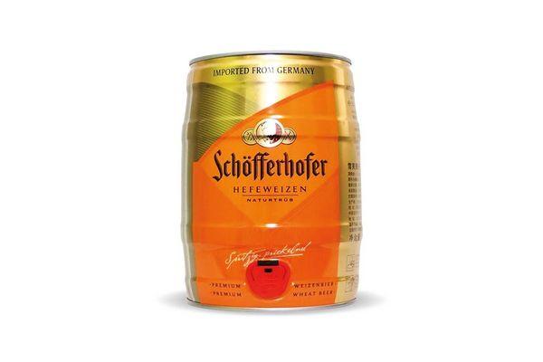 Cerveza SCHOFFERHOFER Barril 5l en Tienda Inglesa