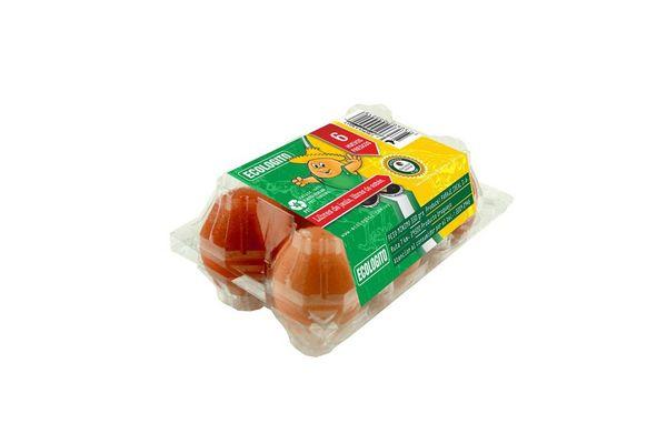 Huevo ECOLOGITO x 6 Unidades en Tienda Inglesa