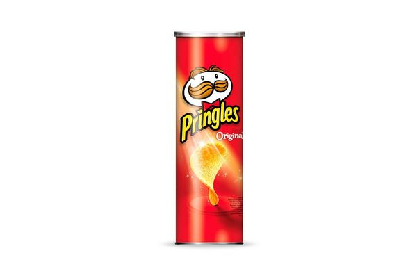 Papas Fritas PRINGLES sabor Original 124 gr en Tienda Inglesa