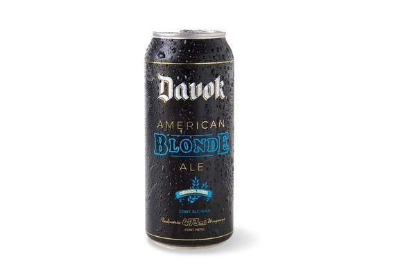 Cerveza DAVOK Blonde Lata 473ml en Tienda Inglesa