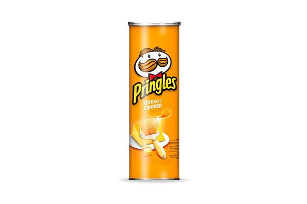 Papas Fritas PRINGLES sabor Queso 124 gr en Tienda Inglesa