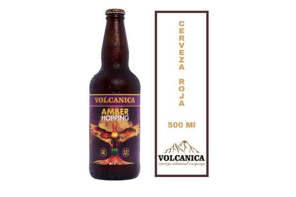 Cerveza VOLCANICA  Amber 500ml en Tienda Inglesa