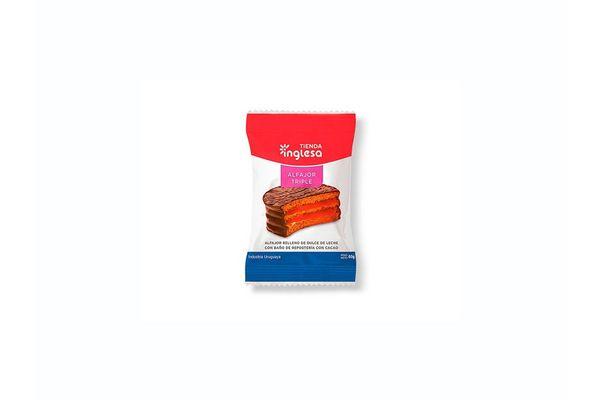 Alfajor de Chocolate Triple TIENDA INGLESA 60 gr en Tienda Inglesa