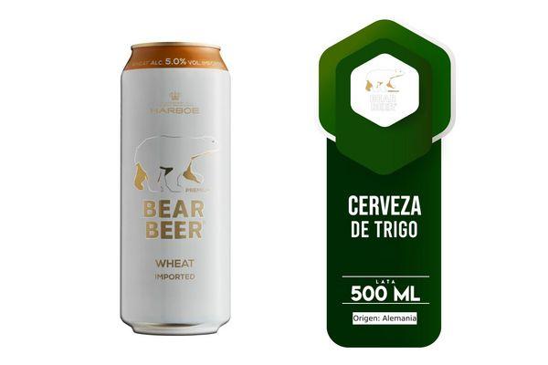Cerveza BEAR Wheat Lata 500ml en Tienda Inglesa