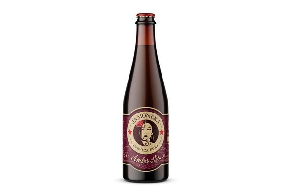 Cerveza LA VIRGEN Jamonera 330ml en Tienda Inglesa