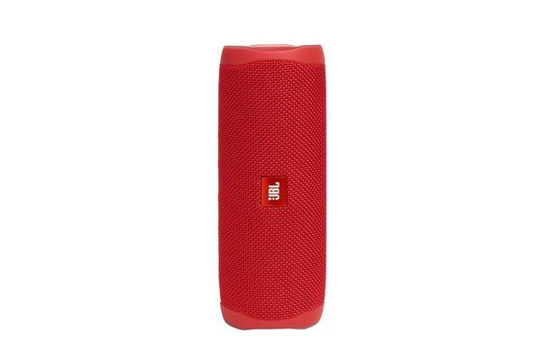 Parlante Bluetooth JBL Flip 5 a Prueba de Agua Color Rojo en Tienda Inglesa