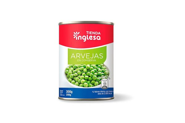 Arveja TIENDA INGLESA 300gr en Tienda Inglesa