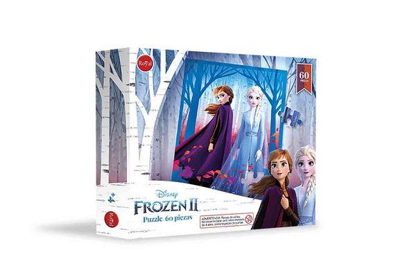 Puzzle Frozen de 60 piezas en Tienda Inglesa