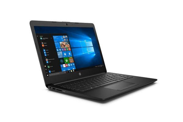 """Notebook HP 14"""" AMD Dual Core SSD 500GB 4GB de RAM Bluetooth Color Negro WIN10 en Tienda Inglesa"""