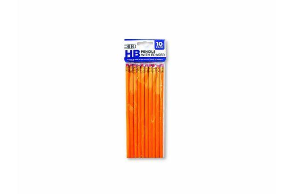 Lápices con Goma HB x 10 Unidades en Tienda Inglesa