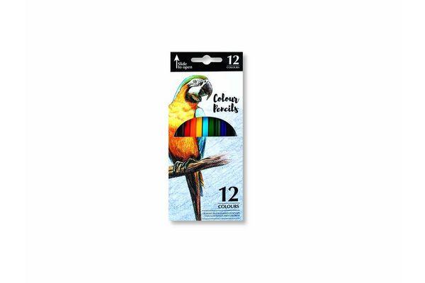 Lápices de Colores x 12 Unidades en Tienda Inglesa