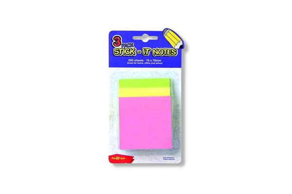 Stick Notes PEN2PAPER x 3 Unidades en Tienda Inglesa