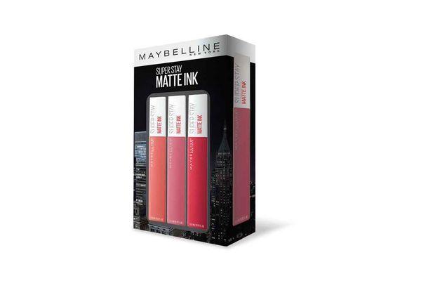 Pack Labial Matte Ink LOREAL  x 3 en Tienda Inglesa