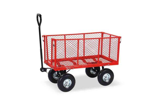 Carro Malla Rojo EQUUS 120 kg en Tienda Inglesa