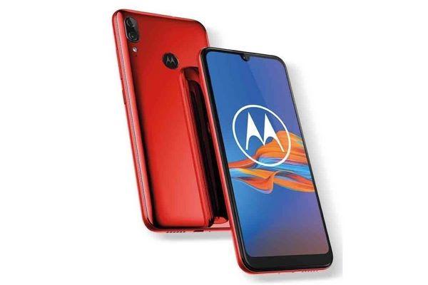 Celular MOTO E6 Plus Rojo Ds 2/32 gb en Tienda Inglesa
