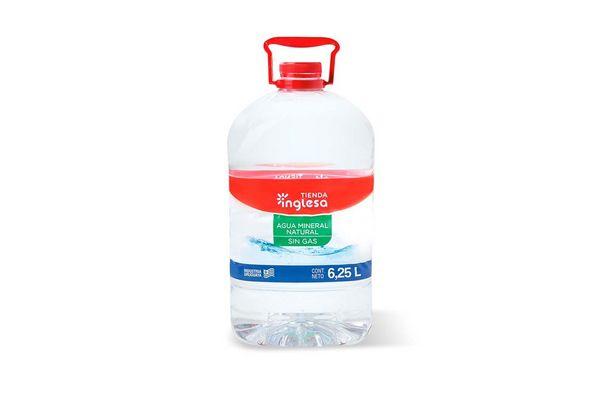 Agua TIENDA INGLESA 6.25L en Tienda Inglesa