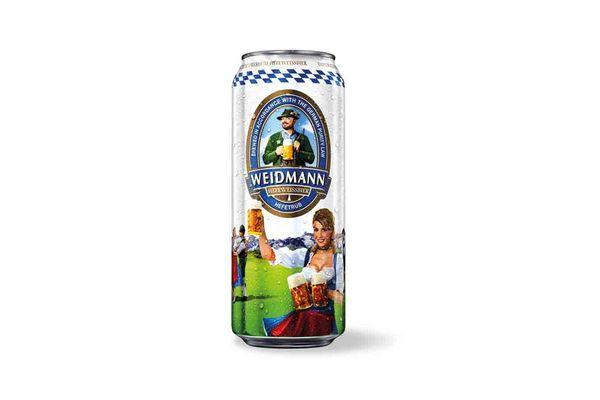 Cerveza WEIDMANN Hefetrub 500ml en Tienda Inglesa