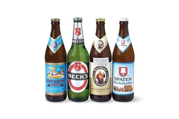 Pack Cerveza Alemana 500ml x 4 LOWENBRAU - BECKS - FRANZISKANER - SPATEN en Tienda Inglesa