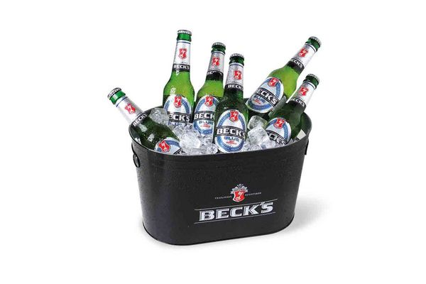 Cerveza BECKS ln Sin Alcohol  330ml x 6 + Balde en Tienda Inglesa