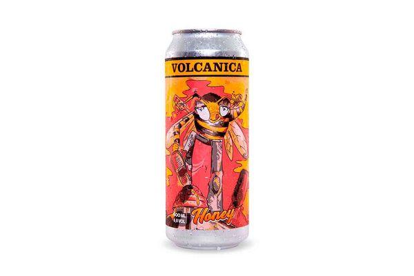 Cerveza VOLCANICA Lata Honey 500 ml en Tienda Inglesa