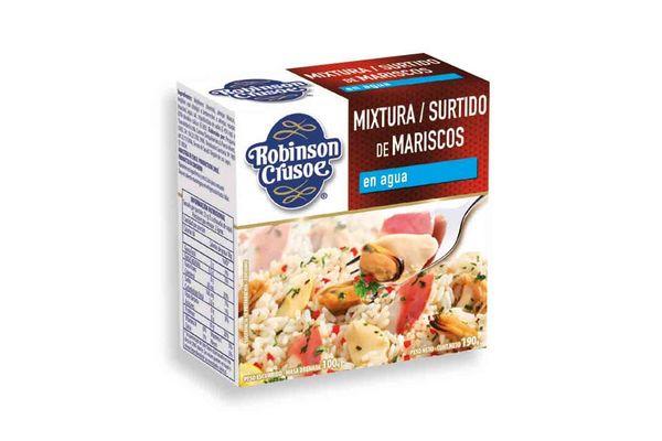 Mariscos al Natural ROBINSON CRUSOE  190g en Tienda Inglesa