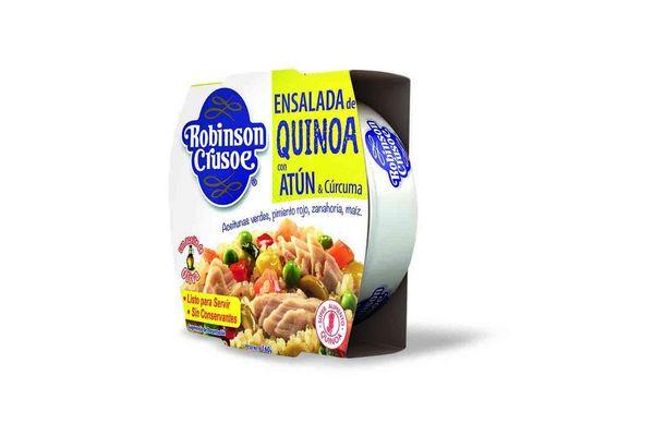 Ensalada Atún Quinoa y Curcuma ROBINSON CRUSOE 160 gr en Tienda Inglesa