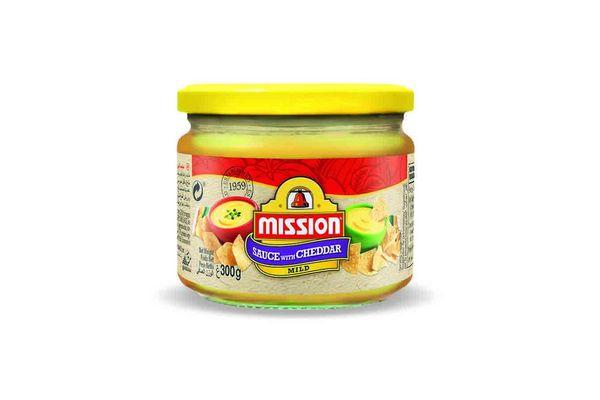 Salsa Queso Cheddar MISSION   300g en Tienda Inglesa
