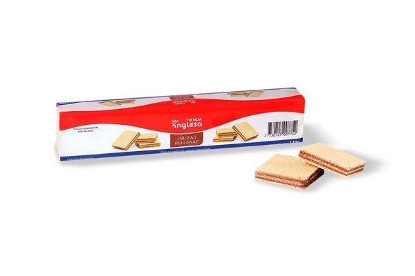 Galleta Oblea Chocolate TIENDA INGLESA 140 gr en Tienda Inglesa
