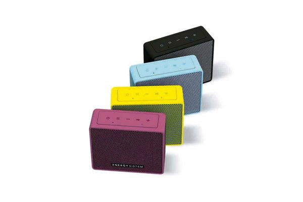 Parlante ENERGY SISTEM Music Box 1 Color Violeta en Tienda Inglesa